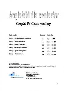 Angielski dla seniorow Czesc 4