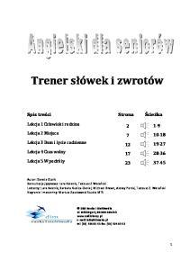 Angielski dla seniorow - Trener slowek i zwrotow