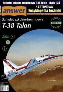 Answer - Kartonowa Encyklopedia Techniki 2008-01 - T-38 Talon