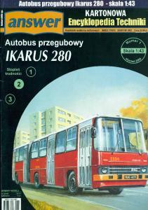 Answer - Kartonowa Encyklopedia Techniki 2009-01 - Ikarus 280 (A-4)