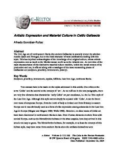 Artistic Expression and Material Culture in Celtic Gallaecia