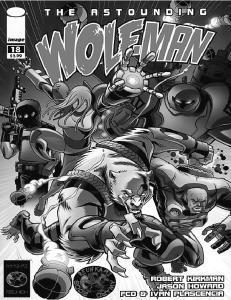 Astounding Wolf-Man 18 (Pl)