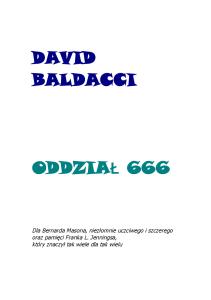 Baldacci David - Oddzial 666