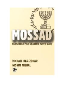 Bar-Zohar Michael Mishal Nissim - Mossad - H