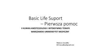 Basic Life Suport-studenci