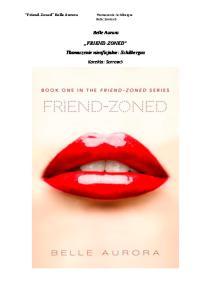 Belle Aurora - Friend Zoned 11-19