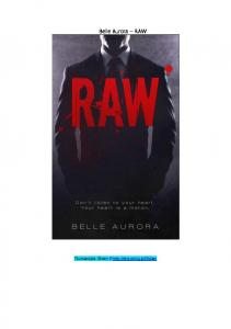 Belle Aurora - RAW 5-12
