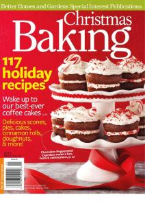 Better Homes and Gardens Christmas Baking