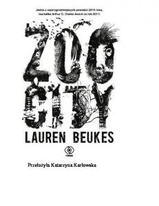 Beukes Lauren - ZOO City