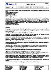 Bicarbonato de Sodio Food Grade 120 a 200 mesh cod 2973