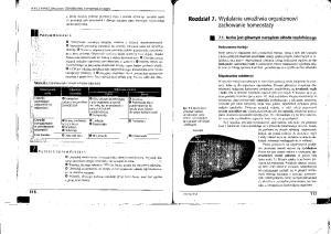 Biologia, Rozdz.7