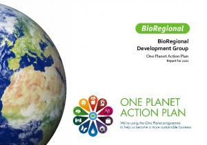 BioRegional OPAP end of year report 2011
