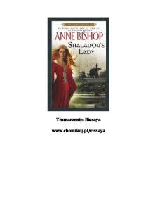 Bishop Anne - 8 Pani Shaladoru