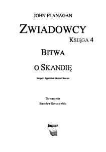 Bitwa o Skandie IV
