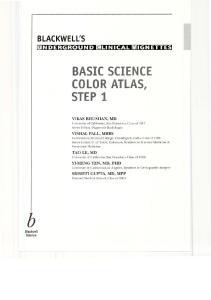 BLACKWELLS BASIC SCIENCE COLOR ATLAS