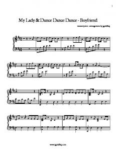 Boyfriend - My Lady and Dance Dance Dance