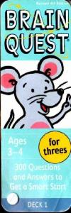 Brain Quest 3-4 ages