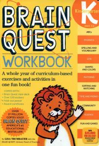 Brain Quest - Workbook Kindergarten