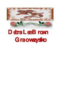 Brown Debra Lee - Gra o wszystko