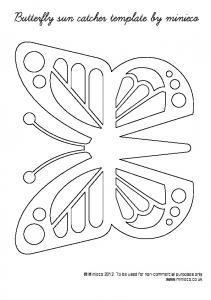 butterfly-template