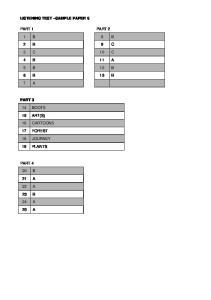 cambridge-english-preliminary-sample-paper-6-listening-answer-key v2