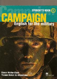 Campaign 1 English for the military Students book units 1-8