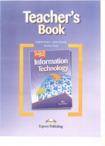 CAREER PATHS Information Technology - Teachers Book