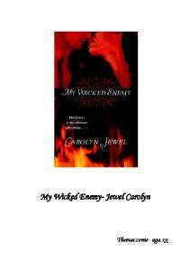 Carolyn Jewel My Wicked Enemy PL