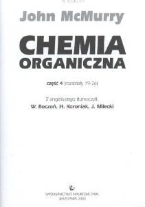 mcmurry chemia organiczna tom 1 pdf