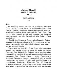 Clavell James - Noble House 02