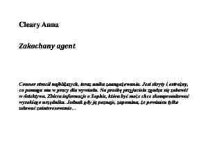 Cleary Anna - Zakochany agent (2)