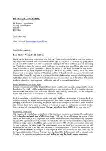 client care letter