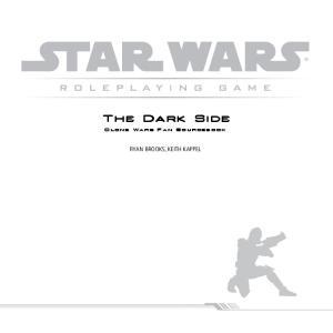 Clone Wars Fan Sourcebook - The Dark Side