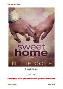 Cole Tillie - Sweet Home