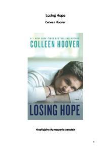 Colleen Hoover - 2 - Losing Hope