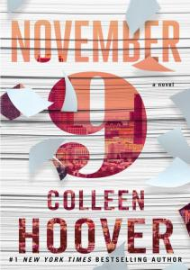 Colleen Hoover 9 listopad