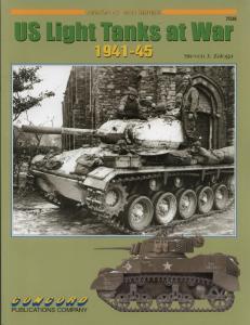 Concord Armor at War 7038 - US Light Tanks at War 1941-45
