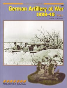 Concord Armor at War 7059 - German Artillery at War 1939-45 (Vol. 1)