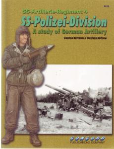 Concord Publication 6516 SS Artillerie Regiment 4 SS Polizei Division