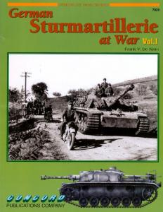 Concord Publication 7029 German Sturmartillerie at War Vol. 1