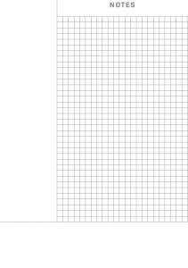 Cornell Notes Grid