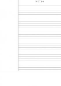 Cornell Notes Lined