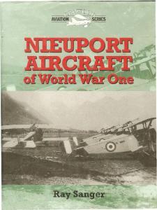 Crowood Aviation Series - Nieuport Aircraft Of World War One