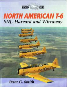 Crowood Aviation Series - North American T-6, SNJ, Harvard & Wirraway