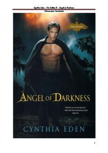 Cynthia Eden - The Fallen 01 - Angel of Darkness