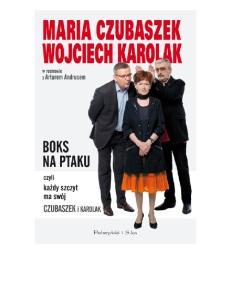 Czubaszek Maria, Karolak Wojciech - Boks na ptaku