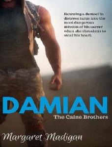 Damian (The Caine Brothers #3) - Margaret Madigan