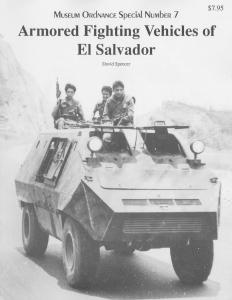 Darlington Productions - Museum Ordnance Special 07 - Armored Fighting Vehicles of El Salv