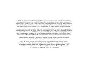 David Cox - [Autobiography 01] - The Road to Goonong (retail) (pdf)
