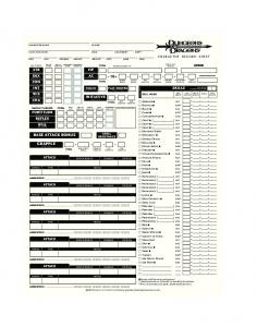 DD 3 5 Edition PHB Character Sheet